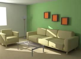 green wall by tiamatcry