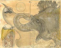 elephant by jonomarks