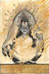 Mandrill on Fire by jonomarks