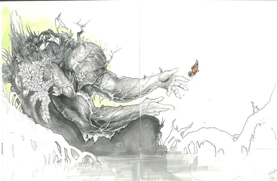 Swamp Thing by jonomarks