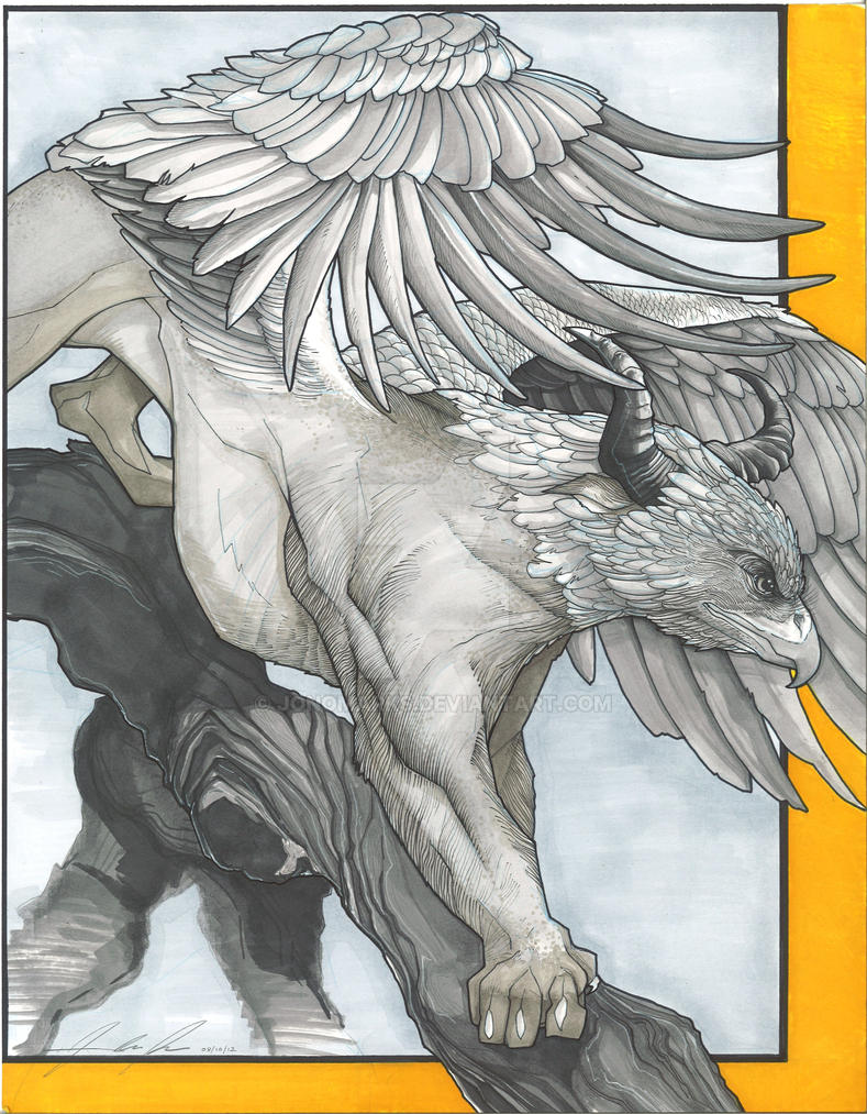 Griffin by jonomarks