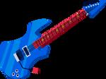 MLP EG - Rainbow Dash Guitar - Vector