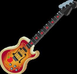 MLP EG - Applejack Bass Guitar - Vector by MLPCreativeLab