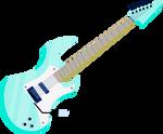 MLP EG - Rainbow Dash GC Guitar - Vector
