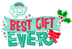 MLP FiM - Best Gift Ever Title - Vector