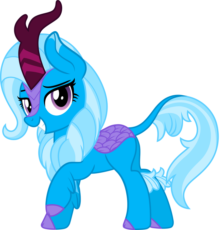 Mlp Fim Kirin Trixie Vector R By Mlpcreativelab