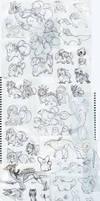 . Sketch Dump O Doom . by Naffiro
