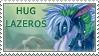 . Hug Lazeros Stamp . by Laseros