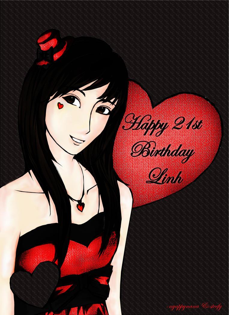 happy birthday linh by sad-nyappyness on DeviantArt