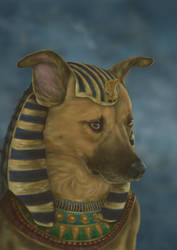 Mythical Dogs Week: Anubis