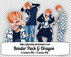 //SHAREFREE//PACKRENDER//GDRAGON by pipzulep