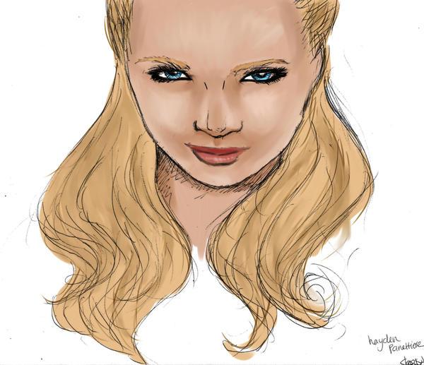 It's Hayden - coloured by Syene