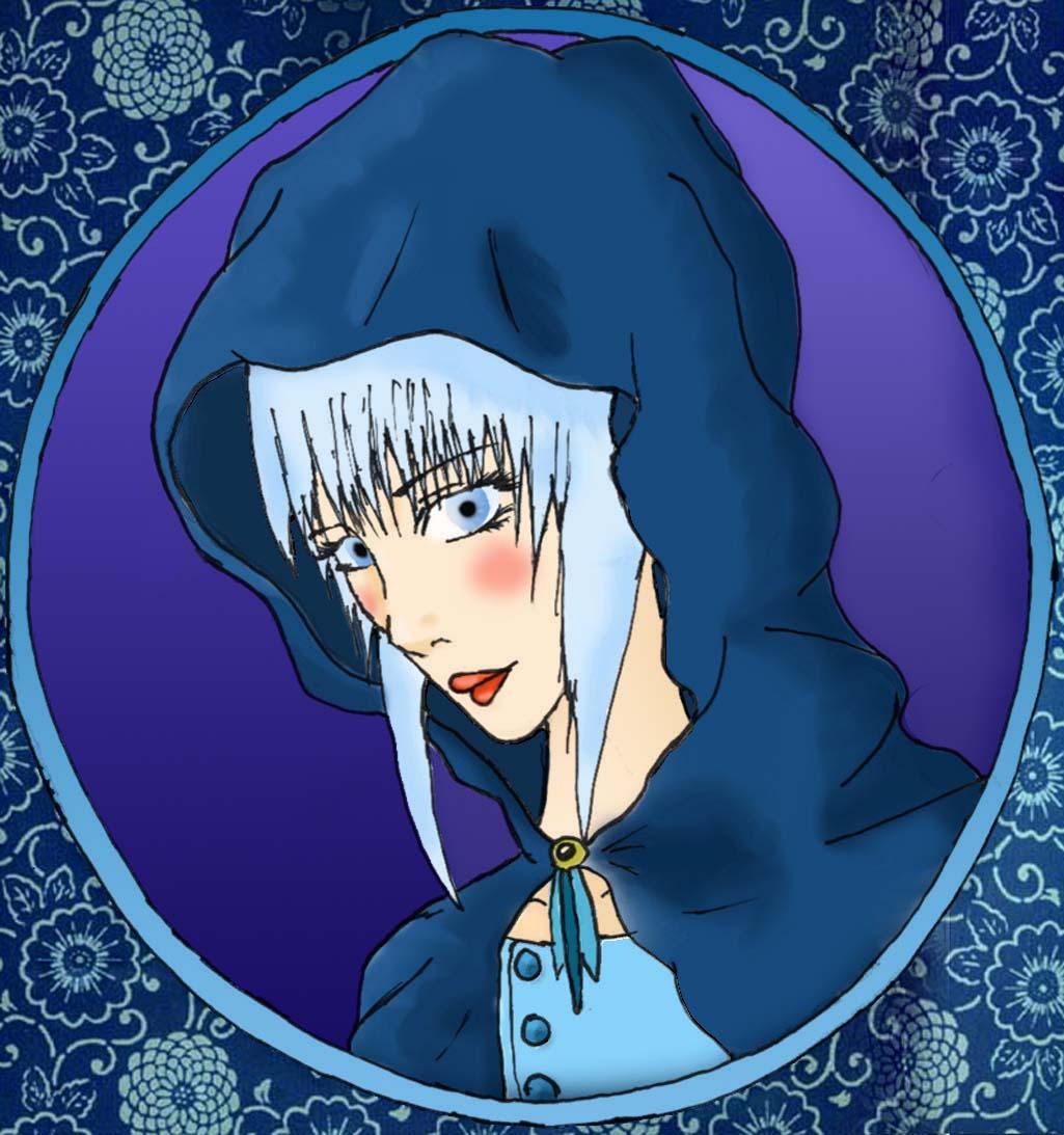Hooded girl by Syene