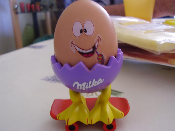 Easter funny egg by Syene