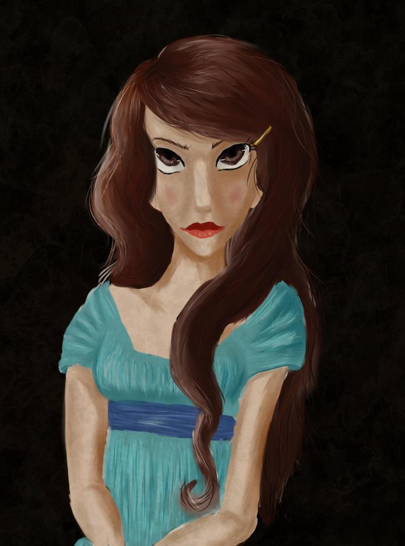 Astasia's betrotal portrait by Syene