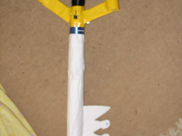 how to make a keyblade out of wood