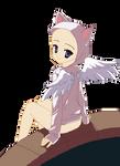 angel cat base by Taartje123