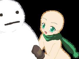 snowman base by Taartje123