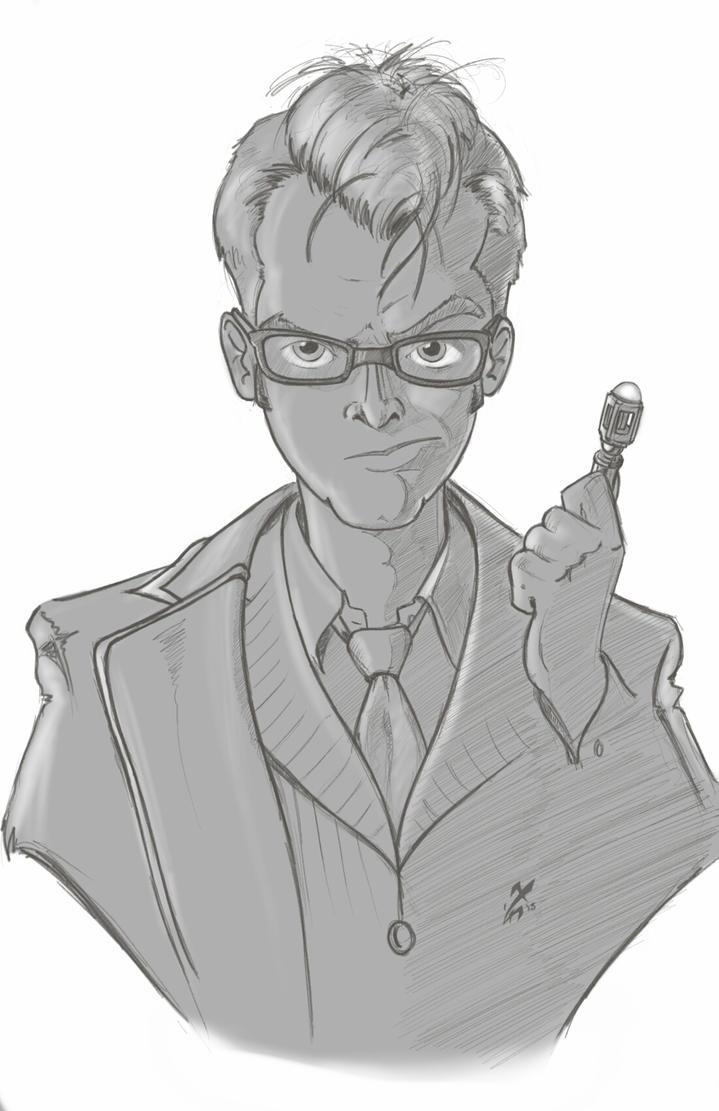 The Tenth Doctor by AgentYiN