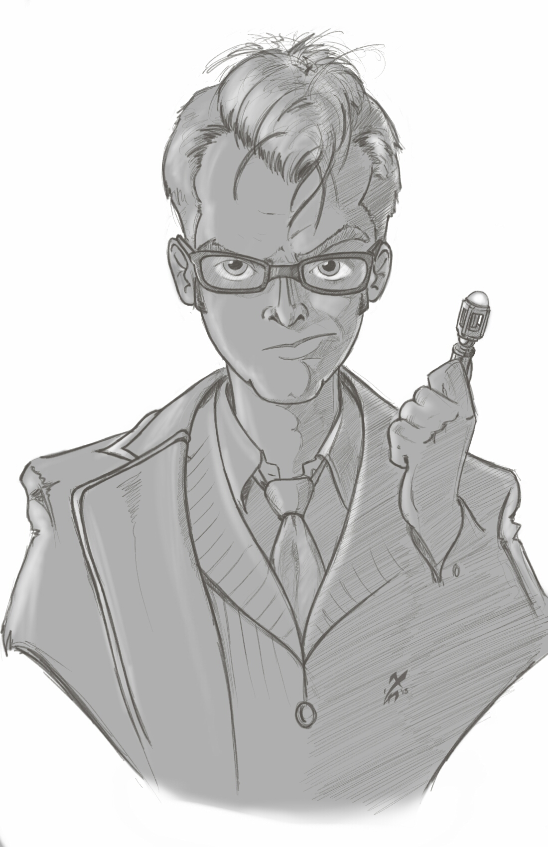 The Tenth Doctor by AgentYiN