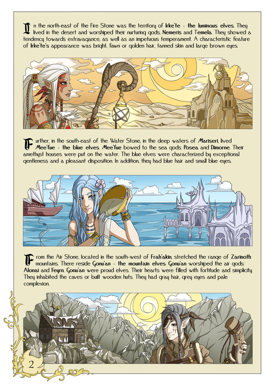 Tales of Frah'Akin page 2 by Meerclar