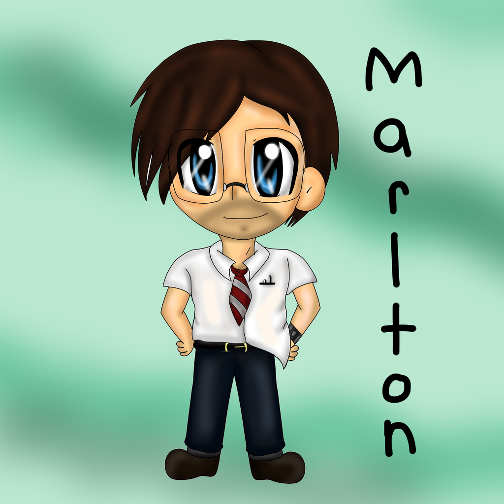 Chibi Marlton (Black ops 2) by thegreatgreywolf