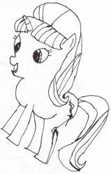 2021-07-23 Starlight Pencil Drawing sketch bw