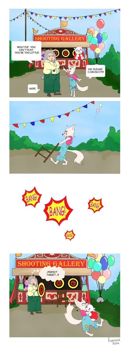 Commission-Diana Comic by Francesca-ictbs
