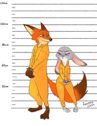 Commission-orange jumpsuits