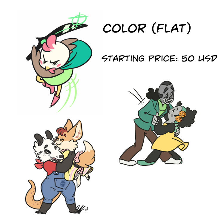 Commission Info Colored by Pitafish