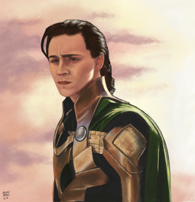 Loki by AnathelaRen