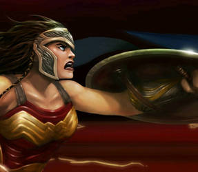 Part of JLA painting