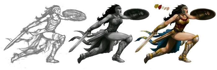 Wonder Woman Character Creation