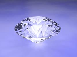 Diamond by laserbeams