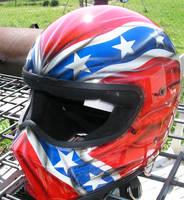 Rebel Flag helmet by chrisfurguson