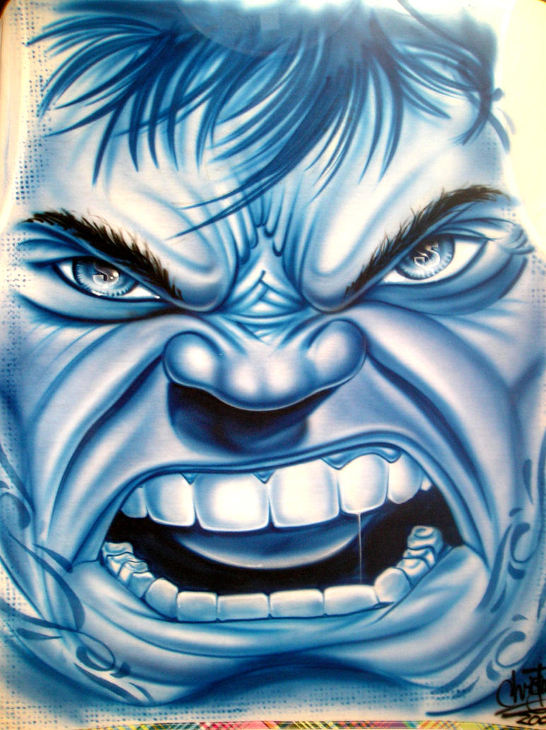 'blue hulk' by chrisfurguson