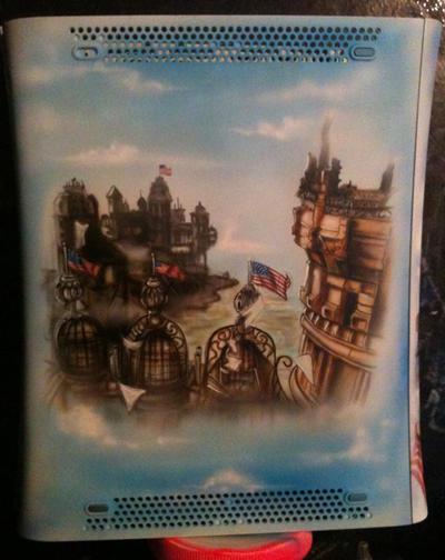 Bioshock Infinite case by chrisfurguson