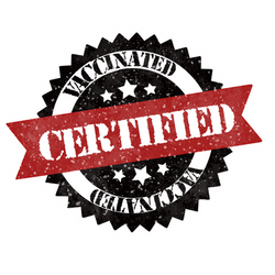 Certified vaccinated by chrisfurguson