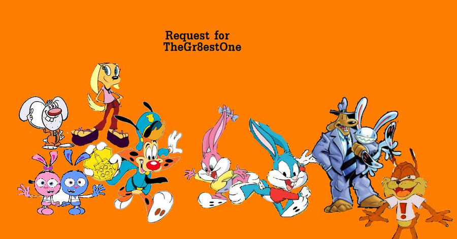 Cartoon Characters 2010 : Random cartoon characters by rogersgirlrabbit on deviantart