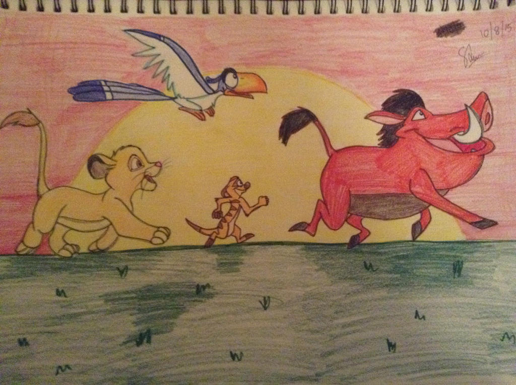 My Thank-You Picture to Cast and Crew of Lion King by RogersGirlRabbit