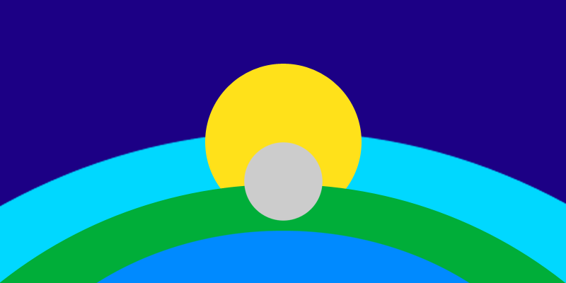Life-Unlimited Earth Flag
