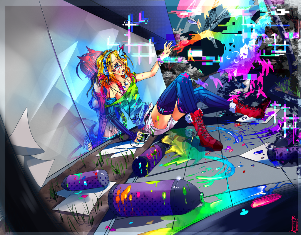 Color-Holic by BlueFly-shi
