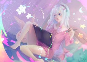 Eromanga sensei by BlueFly-shi
