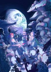 Lunar Mushroom Forest