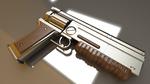 Fallout 1/2 Colt 6520 10mm Autoloader