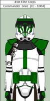 Commander Gree (CC-1004) Regular Armor