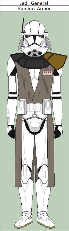 Jedi General Front-Line Armor
