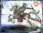 Oni Link and Oni Epona