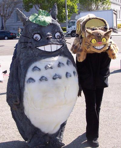 Totoro And Nekobasu By Lilleahwest On Deviantart