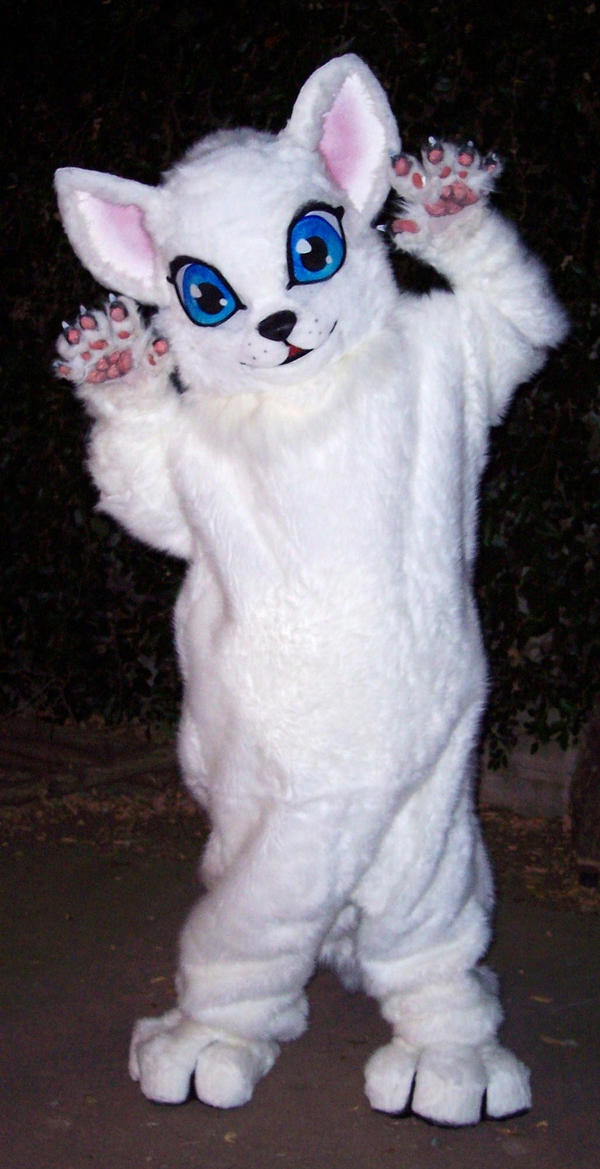 Kitten Fursuit by LilleahWest on